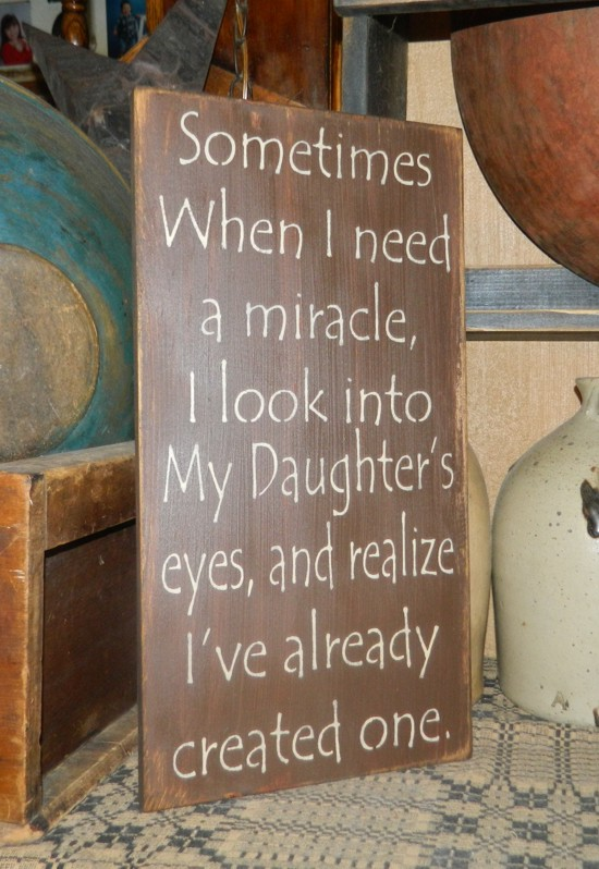 SON MIRACLE PRIMITIVE SIGN SIGNS