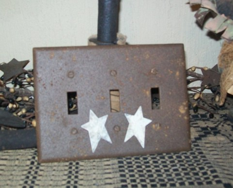 PRIMITIVE TRIPLE SWITCHPLATE BROWN