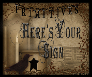 Here's Your Sign Primitives